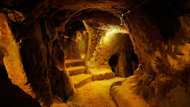 Derinkuyu Underground City Turkey