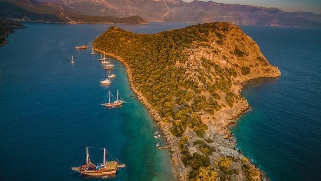 Island of Saint Nicholas in Turkey