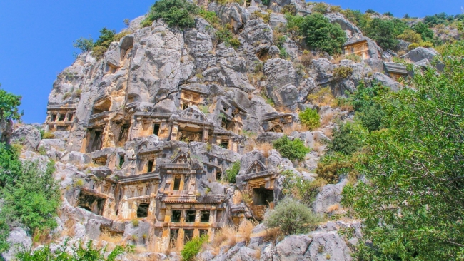 Myra, ancient town in Lycia