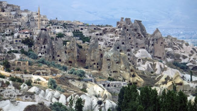 Pigeon valley in Cappadocia Turkey