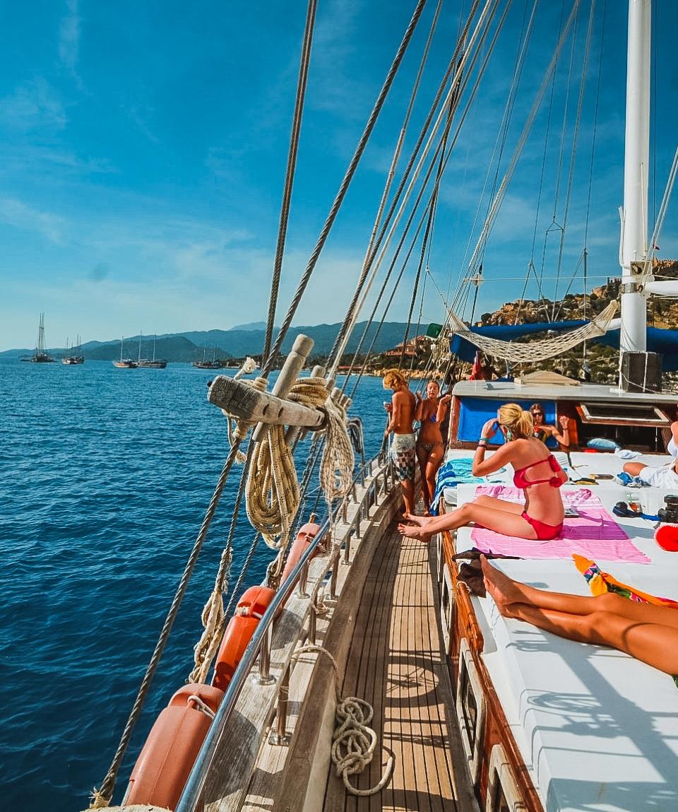Cabin charter Olympos - Fethiye   A2B Travel